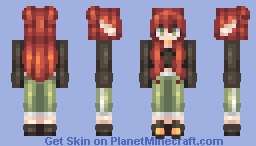 You drive me half insane Minecraft Skin