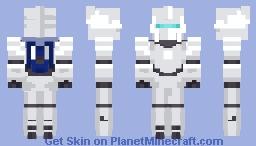 gundam unicorn (normal mode) Minecraft Skin