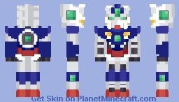 Gundam 00 Quant Minecraft Skin
