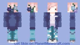 Shades of Blue Minecraft
