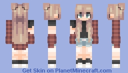 I'm some sort of permanently exhausted pigeon, tbh. Minecraft Skin