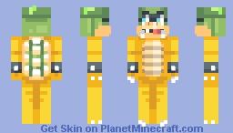 ♥мαηgℓє∂♥ Iggy Koopa Minecraft Skin