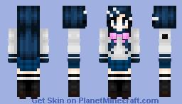 Sayaka Maizono (Ultimate Pop Sensation) // Danganronpa Trigger Happy Havoc Minecraft Skin