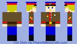 Soviet political commissar, World War 2 Minecraft