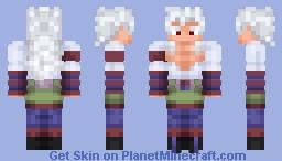 SSJ 5 Goku (DBAF) Minecraft Skin
