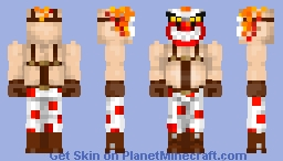 Twisted metal-Sweet Tooth  (Mikufan06's contest) Minecraft Skin