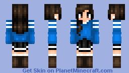 ☮ I don't like teen skins but whatever ☮// First skin Minecraft Skin