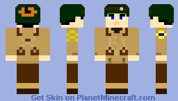 US 2nd Ranger Battalion Soldier, WW2, Pointe Du Hoc Minecraft
