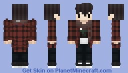 Zaihn 2017 Winter Minecraft Skin