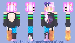 Electrical Punk Minecraft Skin