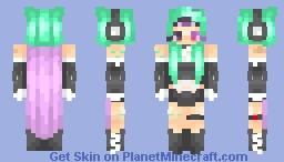 Futuristic ♪//Jadeite Minecraft Skin
