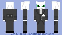 Agent Fluffy Minecraft Skin