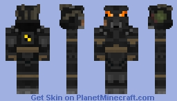 Fallout X-01/Advanced Power Armor Minecraft Skin