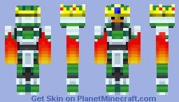 artudito fire king Minecraft Skin