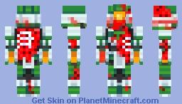 artudito zombie Minecraft Skin