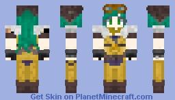 Aviator Irelia Minecraft Skin