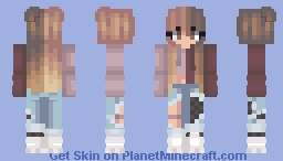 Have your own style and wear what YOU want! Minecraft Skin