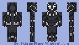 Black Panther Minecraft Skin