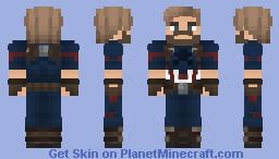 Captain America (Avengers: Infinity War) Minecraft Skin