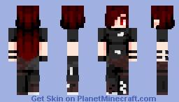 [Kari] Arsonist || OC Minecraft Skin