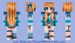 ~✿~𝕾𝖙𝕷𝖊𝖊 ~✿~ Daphane || Louloute Contest Entry Minecraft Skin