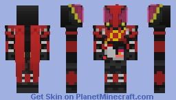 Kamen Rider Build RR Rabbit Rabbit Form Minecraft Skin