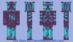 diamond Golem Minecraft Skin