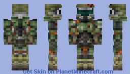 Doom Marine / Praetor Suit ( DOOM (4) ) Minecraft