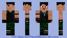 Fortnite: commando Minecraft Skin