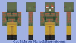 Drax The Destroyer Minecraft Skin