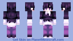 Enderman dude Minecraft Skin