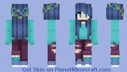 A Girl Minecraft