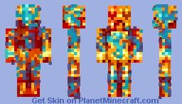 𝓖𝓸𝓵𝓭𝓮𝓷 𝓒𝓻𝓮𝓮𝓹𝓮𝓻 Minecraft Skin