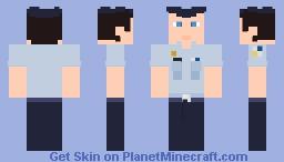 AFJROTC Cadet Minecraft Skin