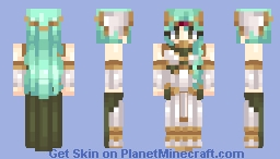 Tatiana- Fire Emblem Echoes (looks a lot better in 3D) Minecraft Skin