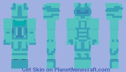 Diamond Warrior Minecraft Skin