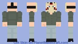 Jason Voorhees (Part 3) Minecraft Skin