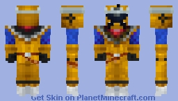 NEW GOLD EDITION! Power Rangers Ninja Steel Gold Minecraft Skin
