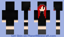 Red Haired Girl Minecraft Skin