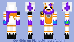 Winter Animatronics! (Read Desc.) Minecraft Skin