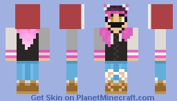 Pink & Purple  [BlackDraw Requested] Minecraft Skin
