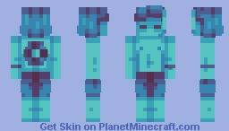 average joe enjoying the aquatic update Minecraft Skin
