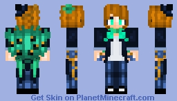 Show Stopper - Peacock! Minecraft Skin