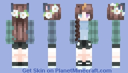 FS - Daises Growing Minecraft Skin