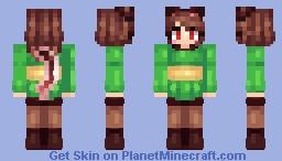CharaNeko Minecraft Skin