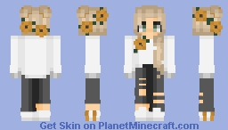 The Sun and Her Flowers ☼ Minecraft Skin