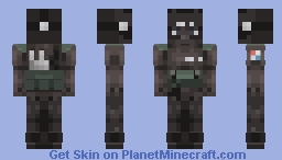"Vigil - Rainbow Six Siege ""Request"" Minecraft Skin"