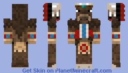 Tauren Chieftain Minecraft Skin