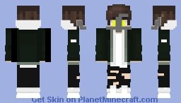 Custom Captian Atom Minecraft Skin