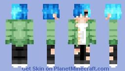 ✩☁ᑢᖇᗩᗷ☁✩Blue Boy Minecraft Skin